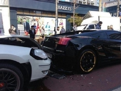 Lamborghini Accident That Went Viral Turns Out to be Insurance Fraud