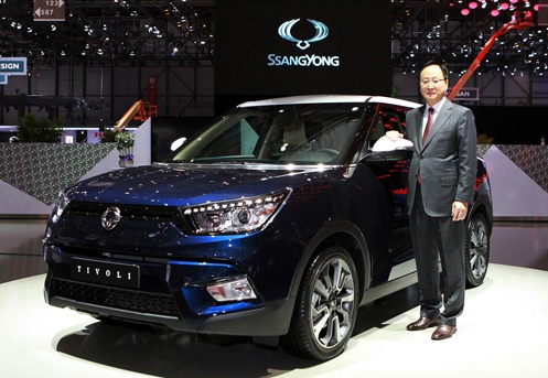 With the global launch, the automaker seeks to target the fast-growing market in Europe where sales of compact SUVs are expanding at a double-digit pace. (image: Ssangyong Motor)