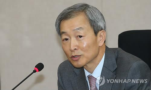 South Korean Ambassador to the United States Ahn Ho-young holds a press conference in Seoul on March 26, 2015. (image: Yonhap)