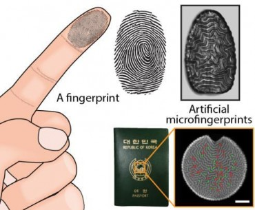 Korean Researchers Develop Dust Sized Artificial Fingerprint Identifier