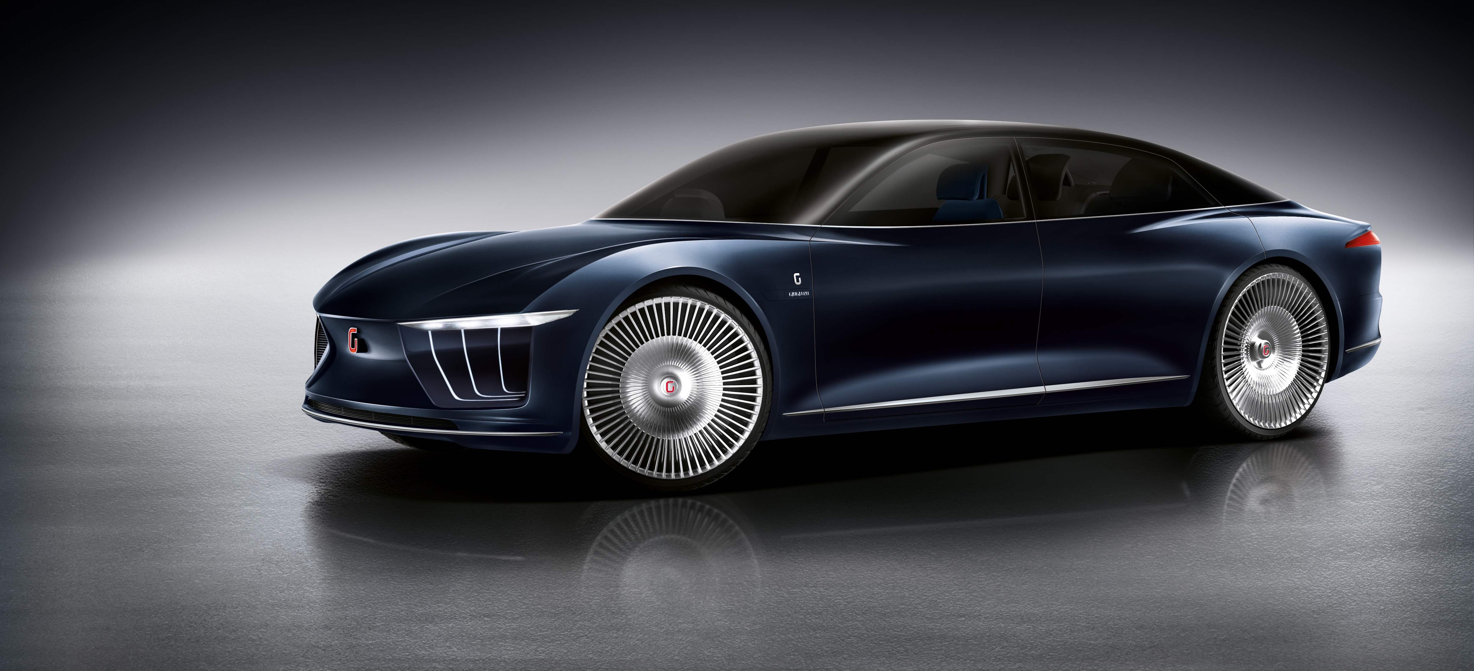 "LG Electronics said it has provided electronic parts to a concept car ""GEA"" made by Italdesign Giugiaro, a design arm of Germany's Volkswagen Group. (image: LG Electronics)"