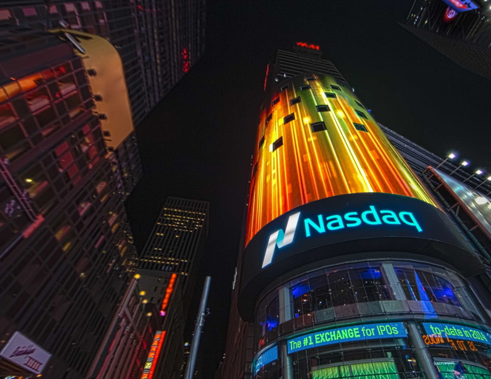 Nasdaq announced that Global X Funds will list a new ETF, The Global X SuperDividend® REIT ETF. (image: NASDAQ)