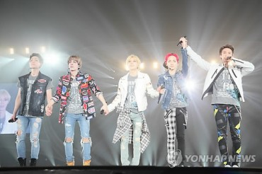Shinee Fills Tokyo Dome Four Years after Japan Debut