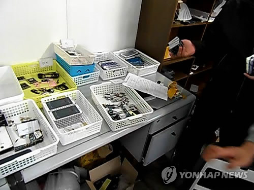 Fake Samsung Smartphone Manufacturers and Distributors Found in Korea