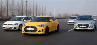 Hyundai Holds Test Drive Event for its 7-DCT Cars and Volkswagen Polo and Golf
