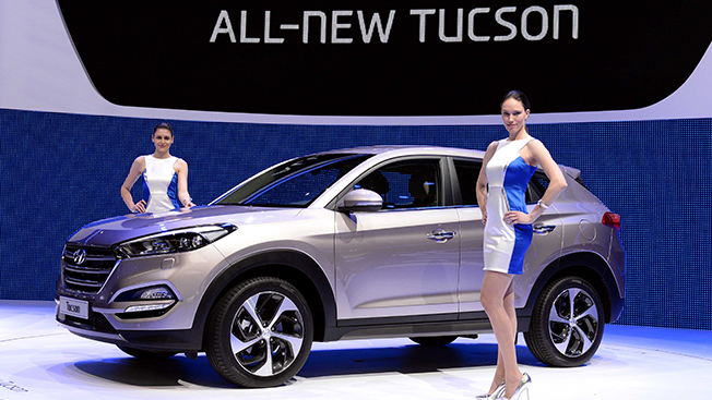 According to the data, the South Korean auto company had sold slightly over a cumulative 3.95 million units of the Tucson as of the end of February. (image: Hyundai Motor Group)