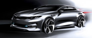 Kia Releases Rendering Images of New K5