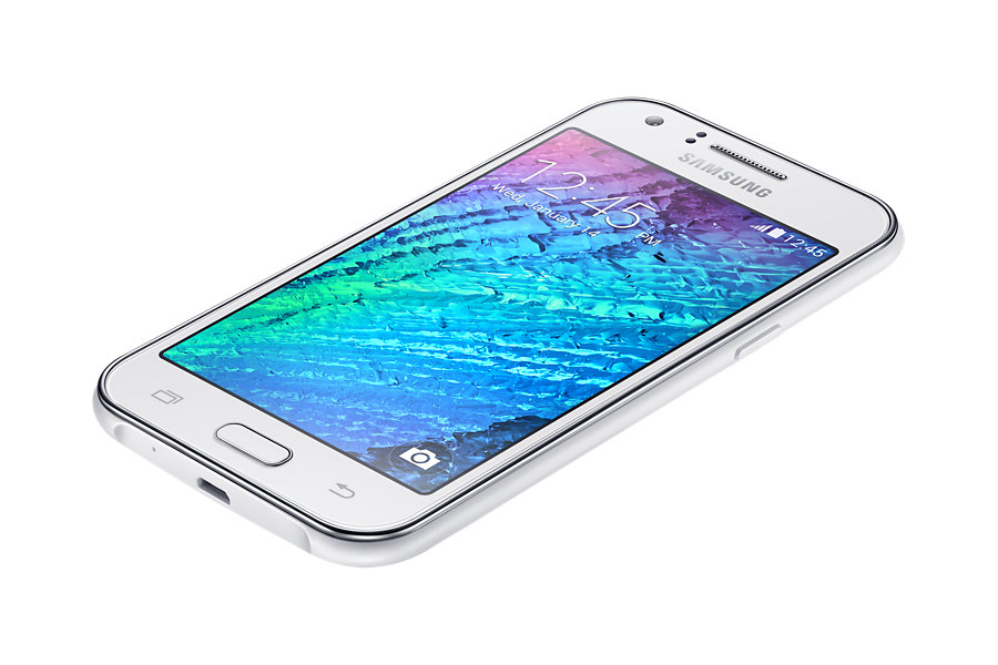 The Galaxy J1 is the cheapest model in Samsung's budget phone lineups that work on the long-term evolution (LTE) network. (image: Samsung Electronics)