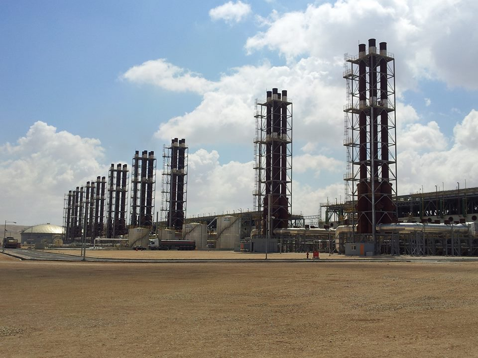 The new power plant in the capital of Jordan has a maximum generation capacity of 573 million watts. (image: KEPCO)