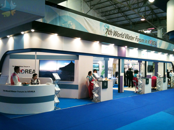 The Korea Pavilion of the 6th World Water Forum Exhibition (image: World Water Forum Secretariat)