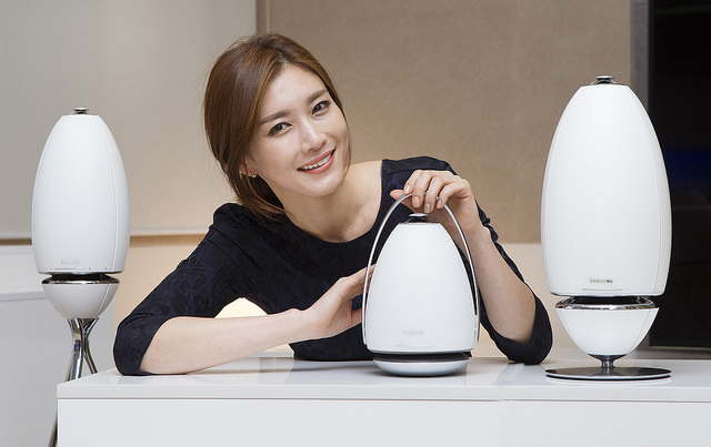 Samsung's Omni-directional Speaker Launching in Korea Later This Month
