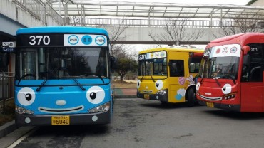 Tayo Character Coming to 150 Seoul Buses