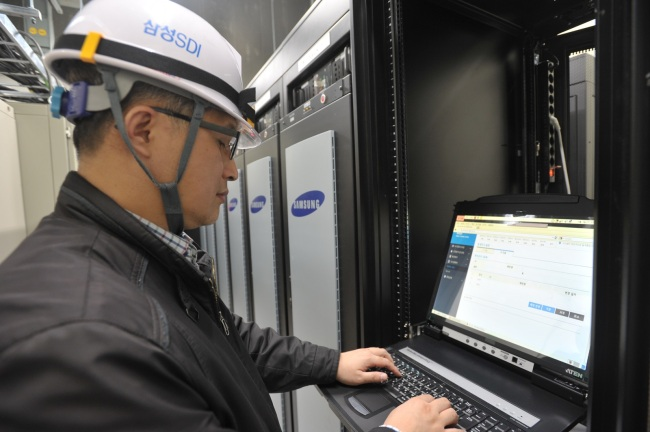Samsung SDI Develops Hybrid Power System between ESS and UPS
