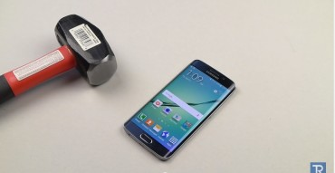 Youtube Clip of Galaxy S6 Edge Shows it's a Die-Hard Breed