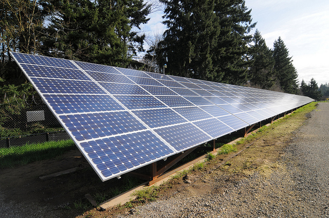 Discarded Railway Tracks Converted to Solar Energy Generators
