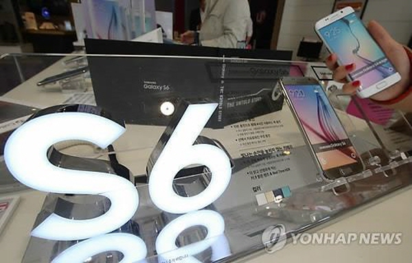 With the market cheering such cutting-edge technologies, industry watchers have been painting rosy pictures of the Galaxy S6. (image Yonhap)