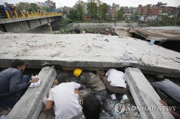 S. Korea Mulls Emergency Relief for Quake-stricken Nepal
