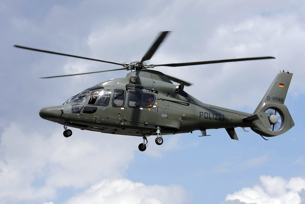 South Korea aims to develop the state-of-the-art armed helicopter like Airbus' EC-155B1 to replace the Army's aging choppers. (image: wikipedia)