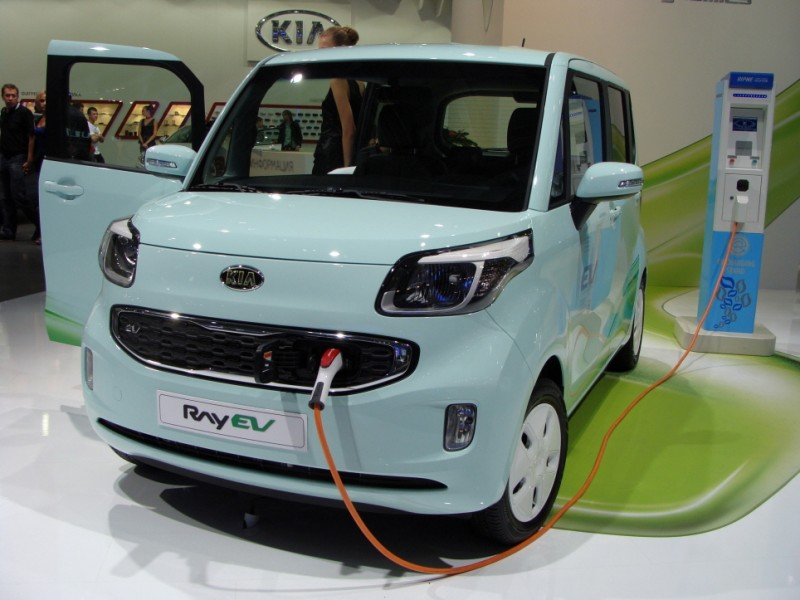 S. Korea's EV Market to Grow Fivefold by 2016