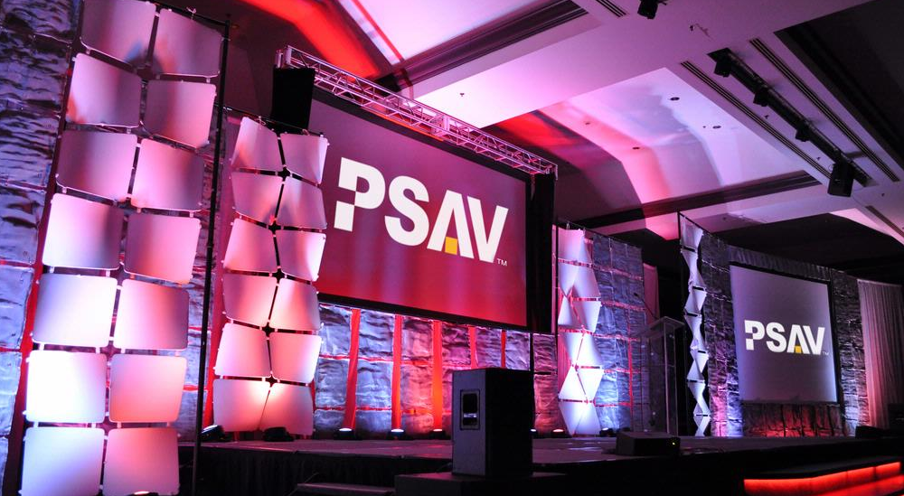 PSAV continues to seek growth in the international marketplace, as well as developing the right partnerships; thus the acquisition of AVC. (image: PSAV)