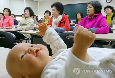 Childrearing in the Autumn of Life: 'Grand' Parenting Classes Popular among Local Gov't Bodies
