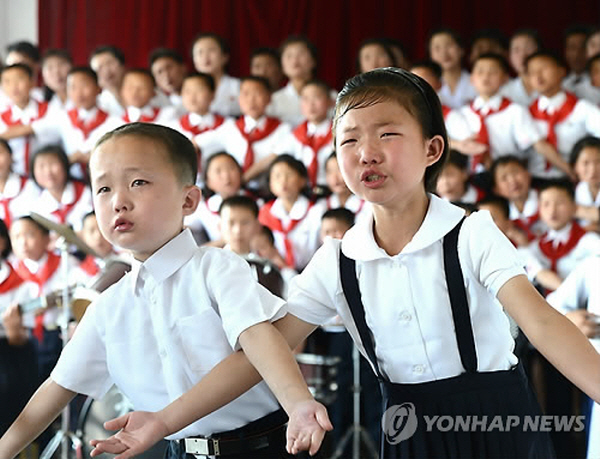 The portion of underweight children suffering from malnutrition accounted for 15.2 percent of all of North Korea's children under age 5 as of end-2013. (image: Yonhap)