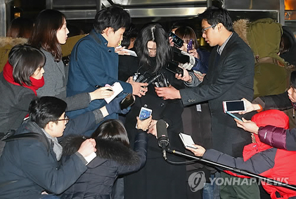Cho said that she thought she lost everything, drawn in denouncements from the public. (image: Yonhap)