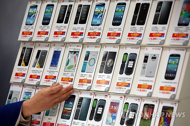 The number of MVNO subscribers increased to 2.48 million in 2013 and grew at an annual rate of 90 percent. (image: Yonhap)