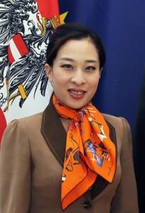 A UN Goodwill Ambassador, Princess Bajrakitiyabha