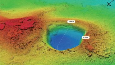 Giant Seabed Crater Found in Sea Near Jeju