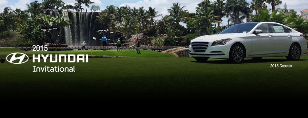 The Hyundai Invitational will sponsor a total of 50 charity golf tournaments across five different regions. (image: Hyundai Motor America)