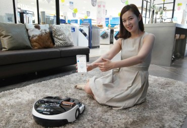 Samsung Rolls Out Smartphone-controlled Robot Vacuum Cleaner