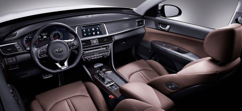 Kia's New K5 First Korean Car with Wireless Phone Charger