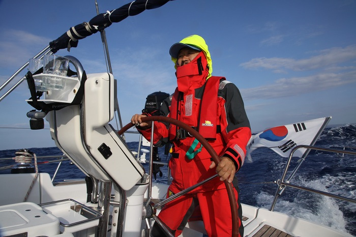 Korean Sailor to Successfully Conclude Non-stop Trip around Globe