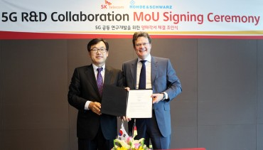 SK Telecom – Rohde Schwarz Sign MOU to Collaborate in the Development of Key 5G Technologies