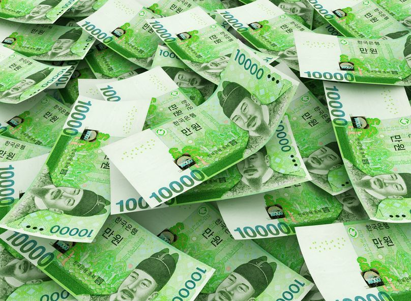 The real effective exchange rate (REER) of the South Korean won stood at 115.34 points last month, the highest level since the 118.79 reached in February 2008. (image: Kobiz Media / Korea Bizwire)