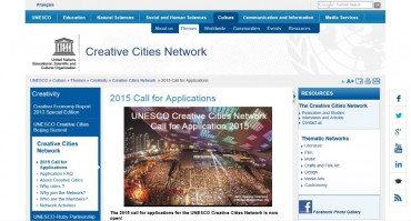 Busan city on UNESCO's Creative Cities Network Main Page