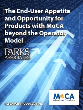 MoCA/Parks Associates Study Shows Consumer Interest in Wired Solutions for Wireless Network Issues