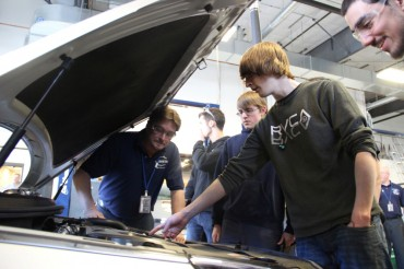 Hyundai Donates 2015 Sonata to High School Automotive Program