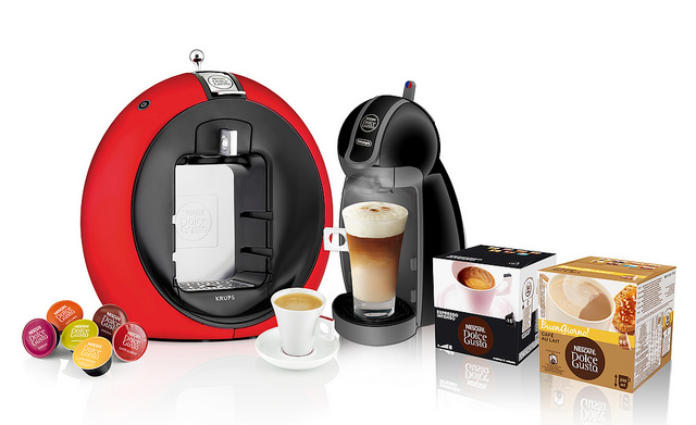 Market watchers believe the rising popularity of capsule coffee machines is the product of consumer demand for both taste and convenience.  (image: Nestlé/flickr)