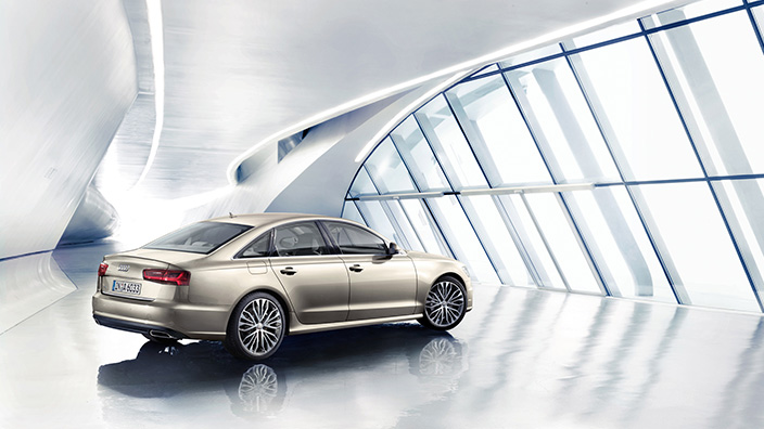 According to the transportation ministry, the fuel efficiency reported by Audi for the A6 TDI mid-size sedan was found to have been exaggerated by more than its permitted margin of error of 5 percent in an analysis carried out last year. (image: Audi)