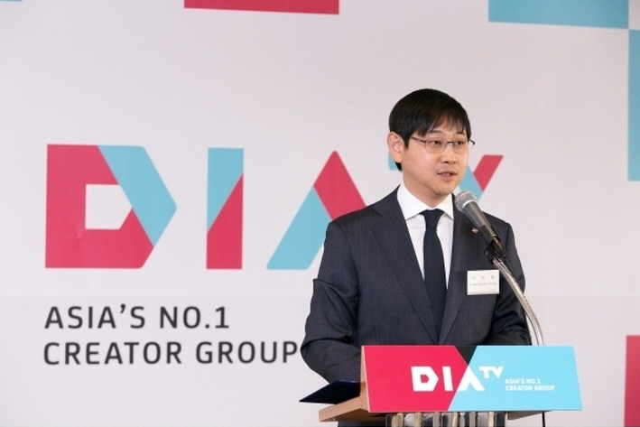 The company said it will expand its two-year-old Multi-Channel Network (MCN) service under the rechristened brand name, DIA TV, an acronym for Digital Influence & Artist TV. (image: CJ E&M)