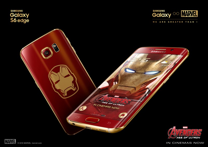 Samsung Set to Accept Pre-orders for Galaxy S6 Edge Iron Man Edition