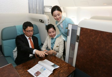 Korean Air Launches Private Suites Equipped with Sliding Doors