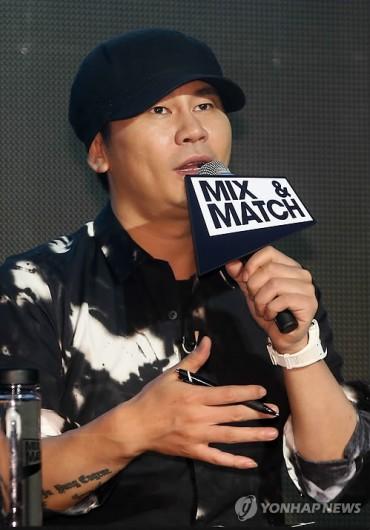 YG Entertainment Head Tops List of Stock-rich Celebrities