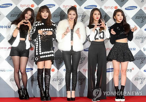 4Minute's Crazy Tops Chinese Chart for Ten Weeks