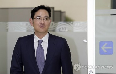Samsung Heir Lee's Stock Value Tops 10 tln Won