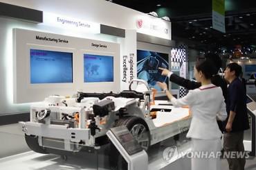 LG Presents Core EV Components at EV Symposium & Exhibition in Goyang