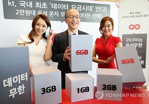 KT introduces Data-Centric Plans with Unlimited Talk and Text