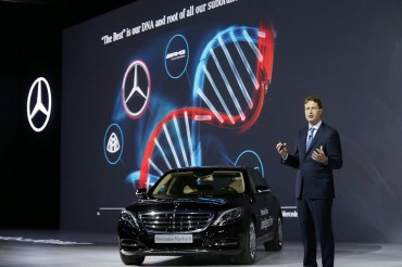 Mercedes-Benz Shows Off New Autopilot System at KINTEX